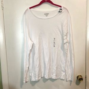 NWT Old Navy Perfect Crew L/S Tee